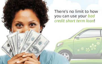 Loan With Bad Credit >> Bad Credit Short Term Loans My Green Loans
